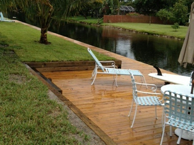 New Dock In Fort Lauderdale
